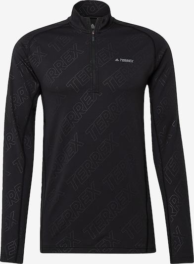 adidas Terrex Functioneel shirt 'TERREX Tracerocker' in de kleur Zwart / Wit, Productweergave