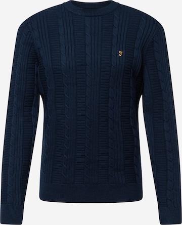 FARAH Sweater in Blue