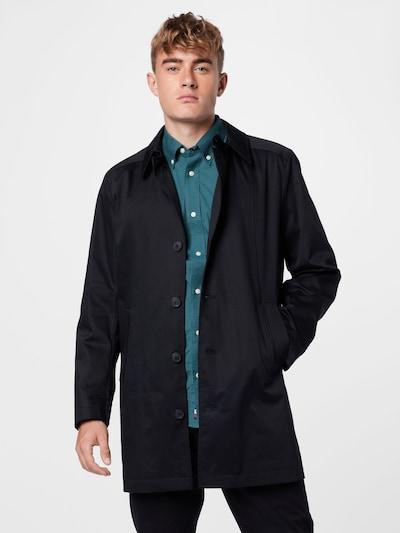 SELECTED HOMME Manteau mi-saison en noir, Vue avec modèle