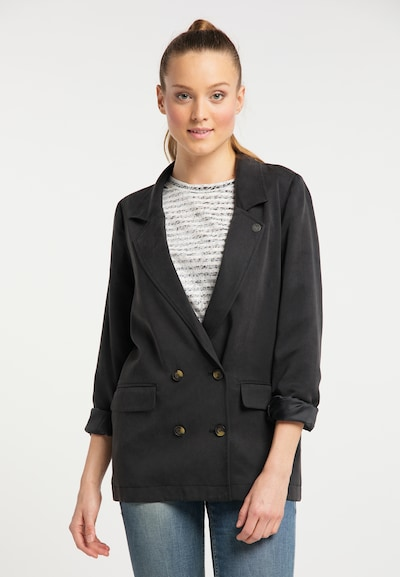 DreiMaster Vintage Blazer in schwarz, Modelansicht