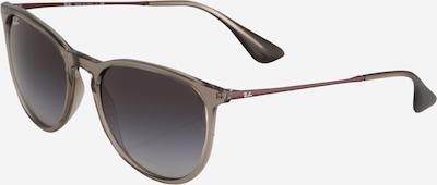 Ray-Ban Sonnenbrille 'Erika' in grau / transparent, Produktansicht