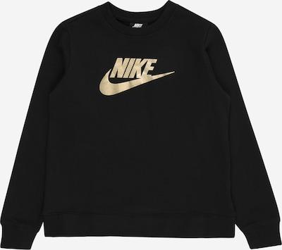 Nike Sportswear Sweatshirt in de kleur Goud / Zwart, Productweergave