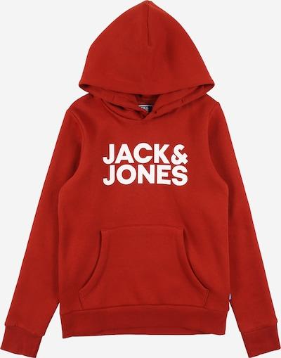 Felpa Jack & Jones Junior di colore rosso / bianco, Visualizzazione prodotti