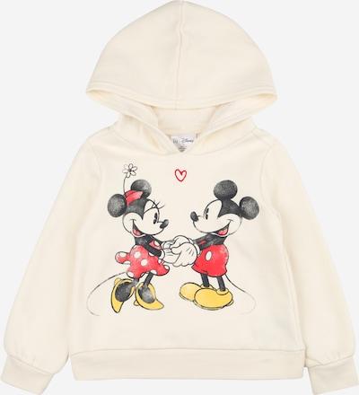 GAP Sweatshirt 'LOVE' in creme / rot / schwarz / weiß, Produktansicht