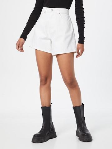 Jeans 'Dagny' di Gina Tricot in bianco