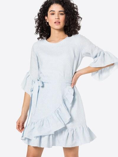 KAN Šaty 'INFINITE' - azúrová / biela, Model/-ka