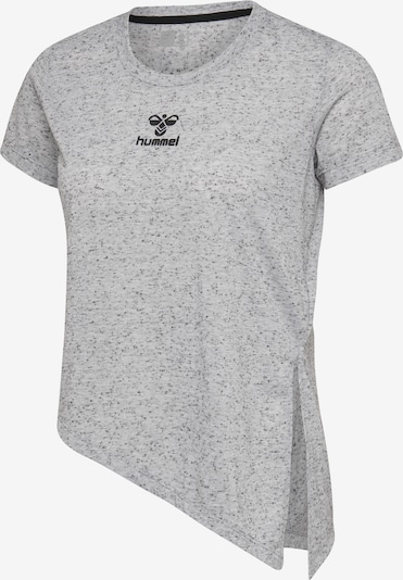 Hummel T-shirt S/S in grau / schwarz, Produktansicht