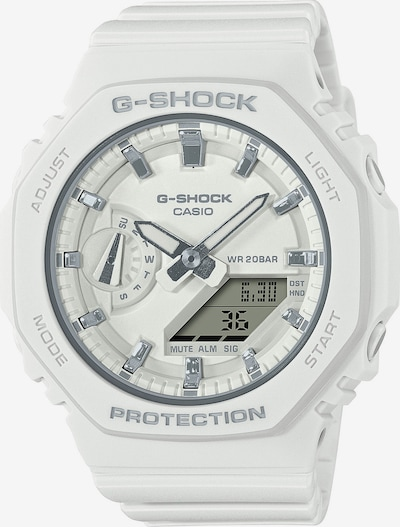 CASIO Uhr in weiß, Produktansicht