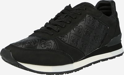 fekete GUESS Rövid szárú edzőcipők 'NEW GLORYM', Termék nézet