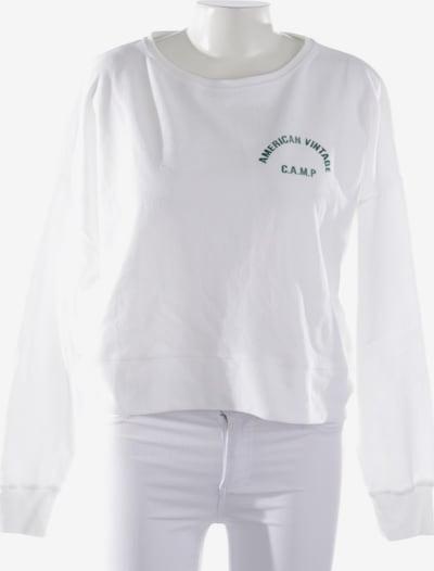 AMERICAN VINTAGE Sweatshirt & Zip-Up Hoodie in M in White, Item view