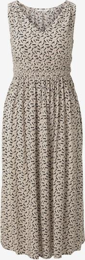 TOM TAILOR Kleid in beige / schwarz, Produktansicht