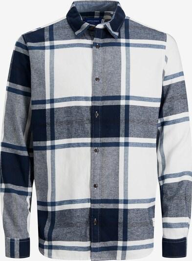 JACK & JONES Hemd 'CURTIS' in navy / weiß, Produktansicht