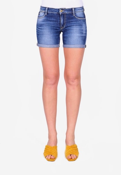 Le Temps Des Cerises Shorts 'JANKA' in blau: Frontalansicht