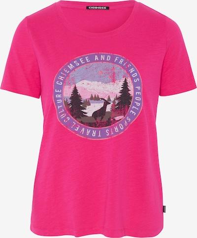 CHIEMSEE Functioneel shirt 'Sangaj' in de kleur Pink, Productweergave
