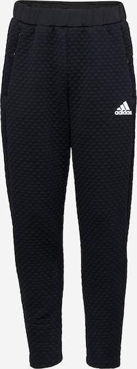 ADIDAS PERFORMANCE Sporthose in basaltgrau / schwarz / weiß, Produktansicht