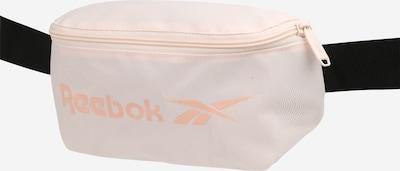 REEBOK Sportgürteltasche in pastellpink / schwarz / weiß, Produktansicht