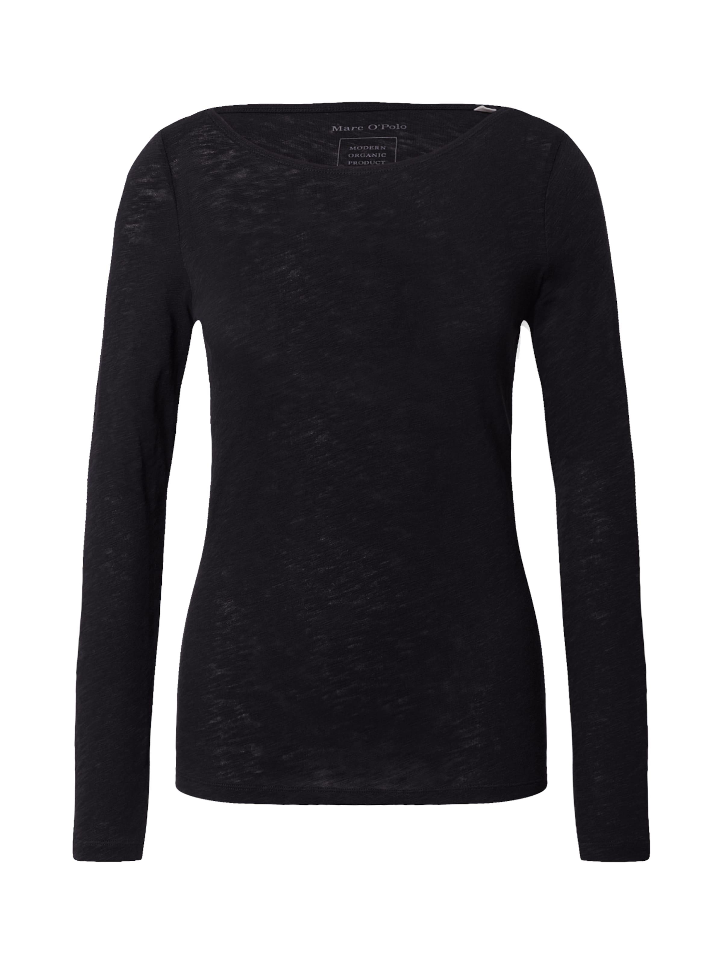 Marc O'Polo Shirt in schwarz
