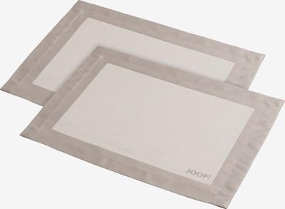 JOOP! Tischset in sand / weiß, Produktansicht