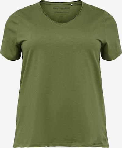 ONLY Carmakoma T-Shirt 'Bonnie' in oliv, Produktansicht
