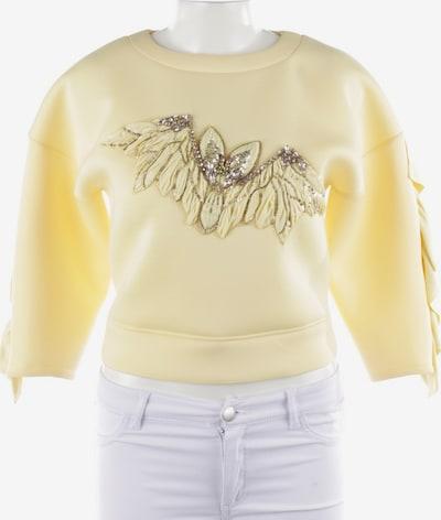 Elisabetta Franchi Sweatshirt in XS in pastellgelb, Produktansicht