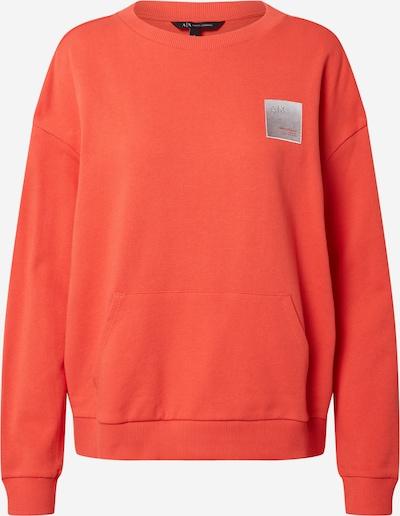 ARMANI EXCHANGE Sweatshirt in de kleur Grijs / Sinaasappel, Productweergave