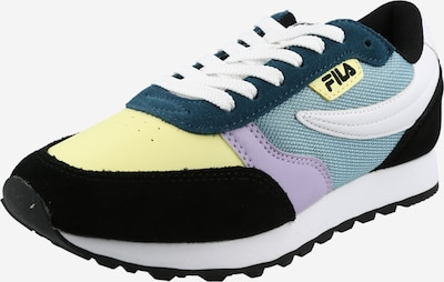 Sneaker low 'Orbit CB' FILA pe albastru pastel / galben deschis / mov deschis / negru / alb, Vizualizare produs