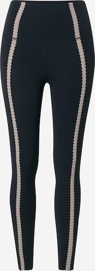 NIKE Športne hlače | bež / črna barva, Prikaz izdelka