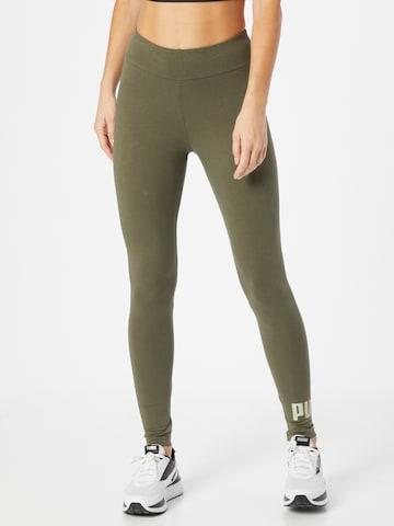 PUMA Leggings in Groen