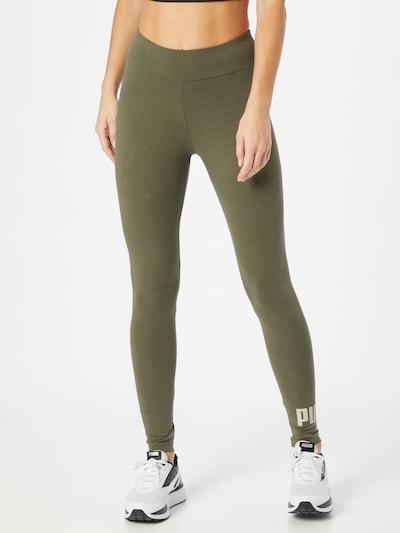 PUMA Sporthose in oliv / pastellgrün, Modelansicht