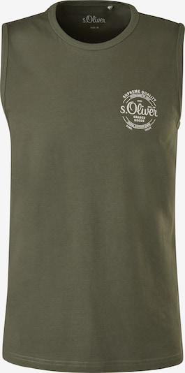 s.Oliver Shirt in creme / khaki, Produktansicht