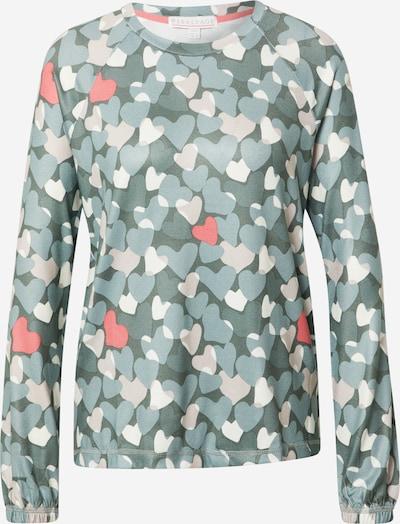 PJ Salvage Schlafshirt in opal / pastellgrün / pink / weiß, Produktansicht