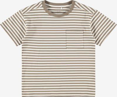 Tricou 'Louis' NAME IT pe șamoa / alb, Vizualizare produs