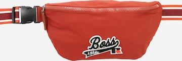 BOSS Vöökott 'Bumbag x Russell Athletics', värv punane