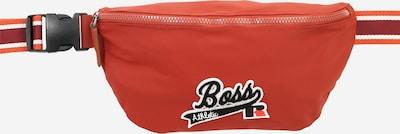 BOSS Gürteltasche 'Bumbag x Russell Athletics' in orangerot / schwarz / weiß, Produktansicht