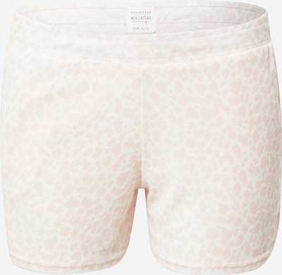 SCHIESSER Shorty in Pastel pink / White, Item view