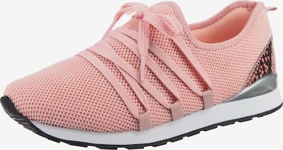 Lynfield Sneaker in pink / schwarz / silber, Produktansicht