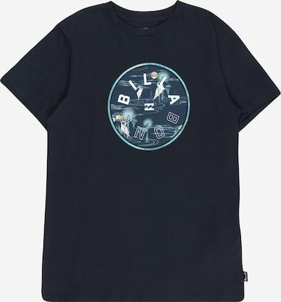 BILLABONG Shirt 'ROTOR FILL' in marine / türkis / nachtblau / weiß, Produktansicht