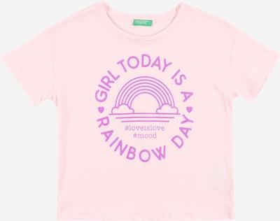 UNITED COLORS OF BENETTON T-Shirt en orchidée / rose, Vue avec produit