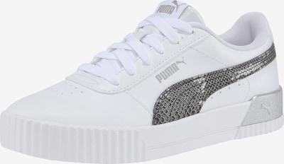 PUMA Sneaker 'Carina' in silbergrau / weiß, Produktansicht