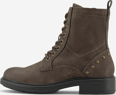 COX Schnür-Boots Schnür-Boots in braun, Produktansicht