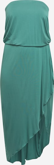 Urban Classics Curvy Robe en jade, Vue avec produit