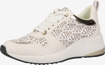 LA STRADA Sneaker in nude / hellbeige / weiß, Produktansicht