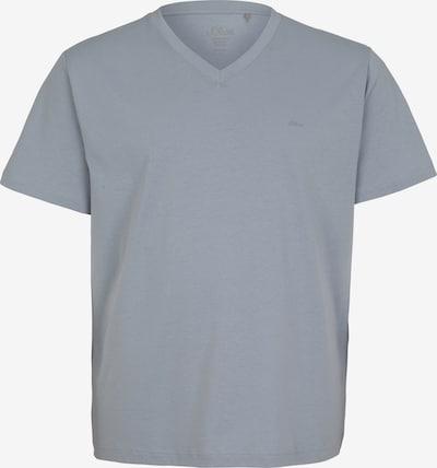 s.Oliver Red Label Big&Tall T-Shirt en gris, Vue avec produit