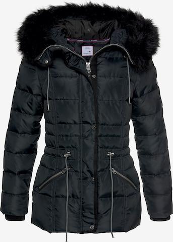 KangaROOS Winter Jacket in Black
