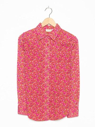 StJohnsBay Blumenbluse in S-M in rosa, Produktansicht