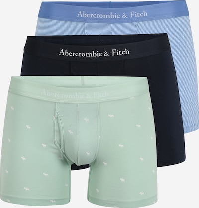 Abercrombie & Fitch Boxerky - námořnická modř / pastelová modrá / světlemodrá / bílá, Produkt