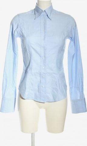 TM Lewin Langarmhemd in XS in Blau