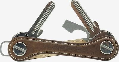JP1880 Schlüsselorganizer in braun / silber, Produktansicht