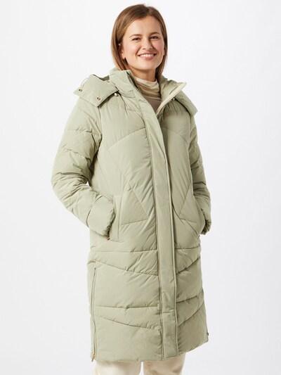 Rudeninis-žieminis paltas iš MINE TO FIVE , spalva - pastelinė žalia, Modelio vaizdas