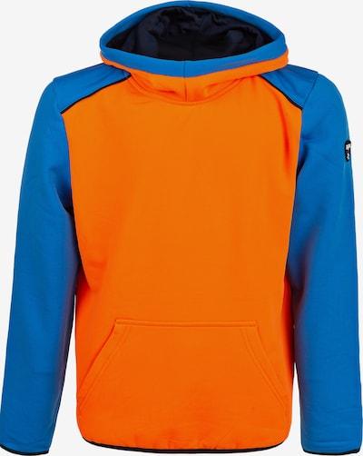 ZigZag Kapuzensweatshirt 'FINK' in blau / orange, Produktansicht